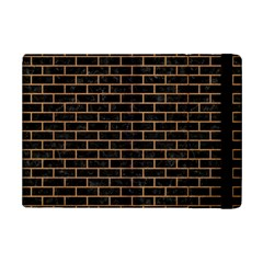 Brick1 Black Marble & Light Maple Wood Ipad Mini 2 Flip Cases