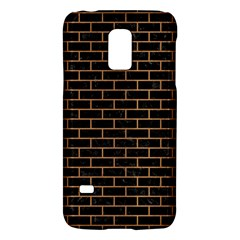 Brick1 Black Marble & Light Maple Wood Galaxy S5 Mini