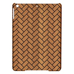 Brick2 Black Marble & Light Maple Wood (r) Ipad Air Hardshell Cases