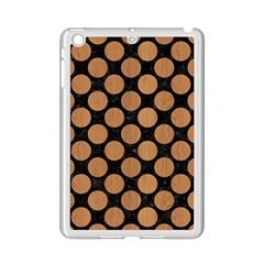 Circles2 Black Marble & Light Maple Wood Ipad Mini 2 Enamel Coated Cases