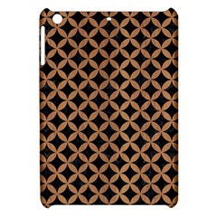 Circles3 Black Marble & Light Maple Wood Apple Ipad Mini Hardshell Case