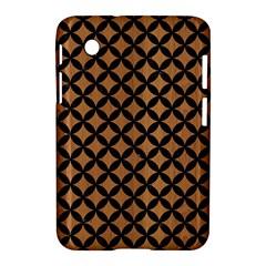 Circles3 Black Marble & Light Maple Wood (r) Samsung Galaxy Tab 2 (7 ) P3100 Hardshell Case