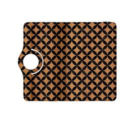 Circles3 Black Marble & Light Maple Wood (r) Kindle Fire Hdx 8 9  Flip 360 Case