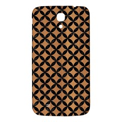 Circles3 Black Marble & Light Maple Wood (r) Samsung Galaxy Mega I9200 Hardshell Back Case