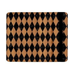 Diamond1 Black Marble & Light Maple Wood Samsung Galaxy Tab Pro 8 4  Flip Case