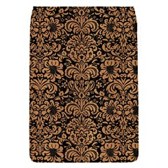 Damask2 Black Marble & Light Maple Wood Flap Covers (s)