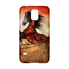 Awesome Creepy Running Horse With Skulls Samsung Galaxy S5 Hardshell Case