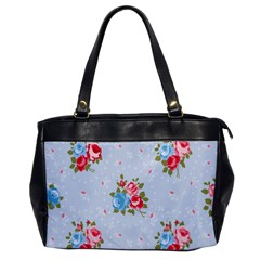 Cute Shabby Chic Floral Pattern Office Handbags