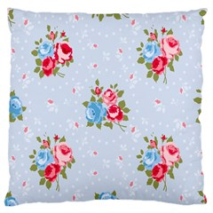 Cute Shabby Chic Floral Pattern Large Cushion Case (one Side)