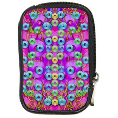 Festive Metal And Gold In Pop Art Compact Camera Cases
