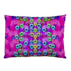 Festive Metal And Gold In Pop Art Pillow Case (two Sides)