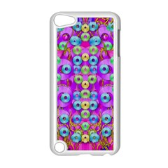 Festive Metal And Gold In Pop Art Apple Ipod Touch 5 Case (white)