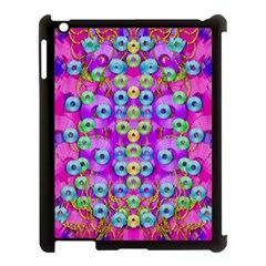 Festive Metal And Gold In Pop Art Apple Ipad 3/4 Case (black)