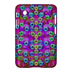 Festive Metal And Gold In Pop Art Samsung Galaxy Tab 2 (7 ) P3100 Hardshell Case