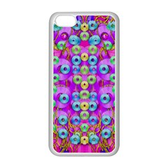 Festive Metal And Gold In Pop Art Apple Iphone 5c Seamless Case (white)