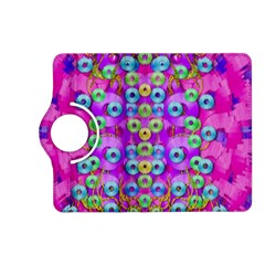 Festive Metal And Gold In Pop Art Kindle Fire Hd (2013) Flip 360 Case