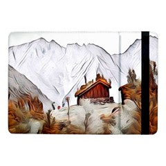 French Coffee Style Abstract Art Samsung Galaxy Tab Pro 10 1  Flip Case