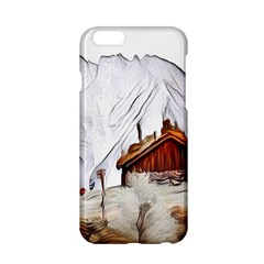 French Coffee Style Abstract Art Apple Iphone 6/6s Hardshell Case