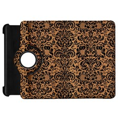 Damask2 Black Marble & Light Maple Wood (r) Kindle Fire Hd 7