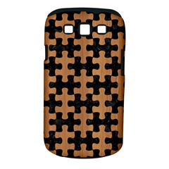 Puzzle1 Black Marble & Light Maple Wood Samsung Galaxy S Iii Classic Hardshell Case (pc+silicone)