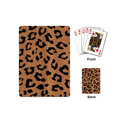 Skin5 Black Marble & Light Maple Wood Playing Cards (mini)