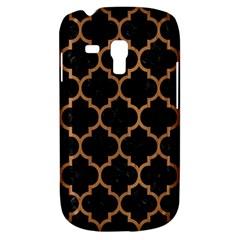Tile1 Black Marble & Light Maple Wood Galaxy S3 Mini