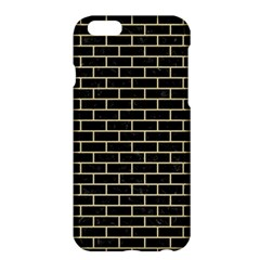 Brick1 Black Marble & Light Sand Apple Iphone 6 Plus/6s Plus Hardshell Case