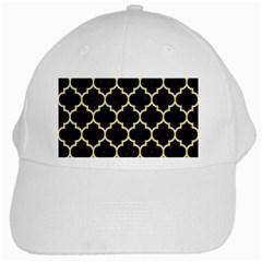 Tile1 Black Marble & Light Sand White Cap