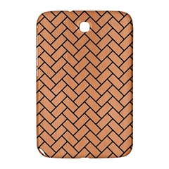 Brick2 Black Marble & Natural Red Birch Wood (r) Samsung Galaxy Note 8 0 N5100 Hardshell Case
