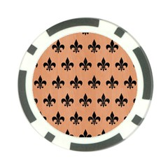 Royal1 Black Marble & Natural Red Birch Wood Poker Chip Card Guard (10 Pack)