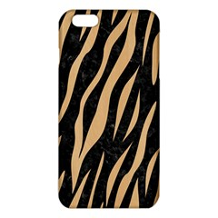 Skin3 Black Marble & Natural White Birch Wood Iphone 6 Plus/6s Plus Tpu Case