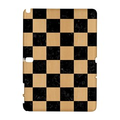 Square1 Black Marble & Natural White Birch Wood Galaxy Note 1