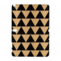 Triangle2 Black Marble & Natural White Birch Wood Galaxy Note 1