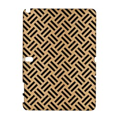 Woven2 Black Marble & Natural White Birch Wood (r) Galaxy Note 1