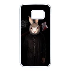 Evil Rabbit Samsung Galaxy S7 White Seamless Case