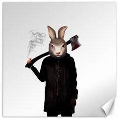 Evil Rabbit Canvas 12  X 12
