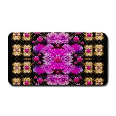 Flowers And Gold In Fauna Decorative Style Medium Bar Mats