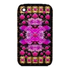Flowers And Gold In Fauna Decorative Style Iphone 3s/3gs