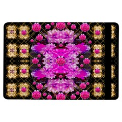 Flowers And Gold In Fauna Decorative Style Ipad Air Flip