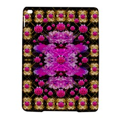 Flowers And Gold In Fauna Decorative Style Ipad Air 2 Hardshell Cases