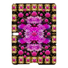 Flowers And Gold In Fauna Decorative Style Samsung Galaxy Tab S (10 5 ) Hardshell Case