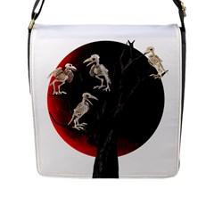 Dead Tree  Flap Messenger Bag (l)