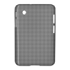 Classic Vintage Black And White Houndstooth Pattern Samsung Galaxy Tab 2 (7 ) P3100 Hardshell Case