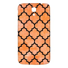 Tile1 Black Marble & Orange Watercolor Samsung Galaxy Mega I9200 Hardshell Back Case