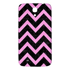 Chevron9 Black Marble & Pink Colored Pencil (r) Samsung Galaxy Mega I9200 Hardshell Back Case