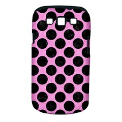 Circles2 Black Marble & Pink Colored Pencil Samsung Galaxy S Iii Classic Hardshell Case (pc+silicone)
