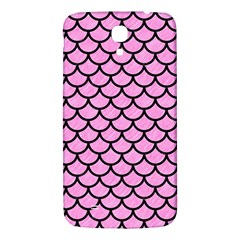 Scales1 Black Marble & Pink Colored Pencil Samsung Galaxy Mega I9200 Hardshell Back Case