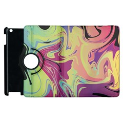 Abstract Marble 8 Apple Ipad 2 Flip 360 Case
