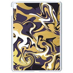 Abstract Marble 17 Apple Ipad Pro 9 7   White Seamless Case