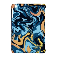 Abstract Marble 18 Apple Ipad Mini Hardshell Case (compatible With Smart Cover)